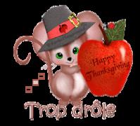 Trop drole - ThanksgivingMouse