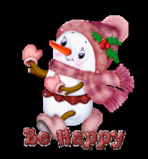 Be Happy - CuteSnowman