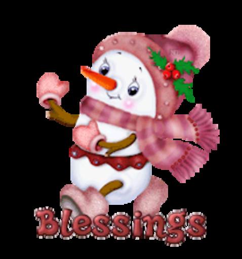 Blessings - CuteSnowman