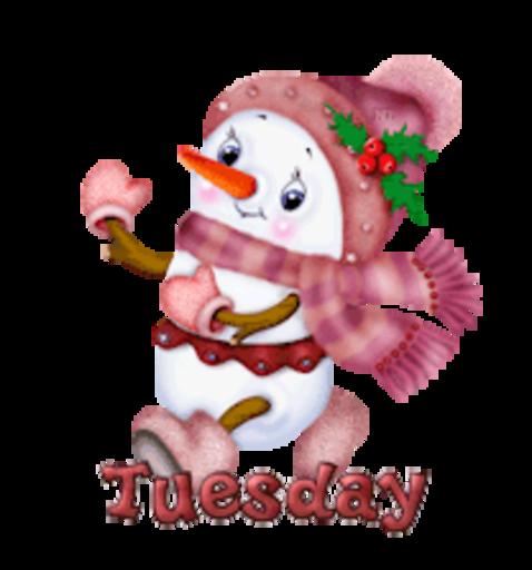 DOTW Tuesday - CuteSnowman