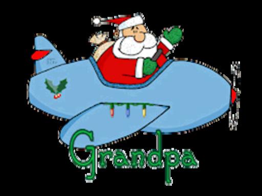 Grandpa - SantaPlane