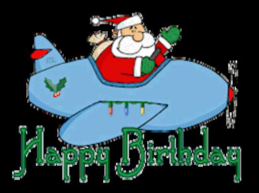Happy Birthday - SantaPlane