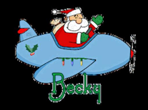 Becky - SantaPlane
