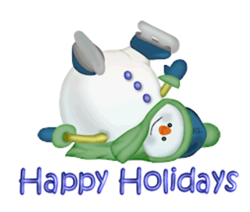 Happy Holidays - CuteSnowman1318