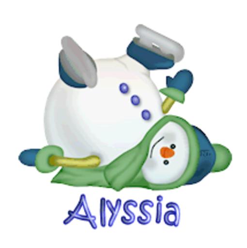 Alyssia - CuteSnowman1318