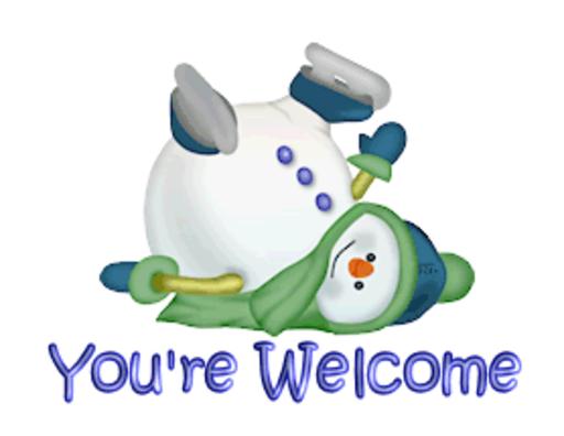 You're Welcome - CuteSnowman1318