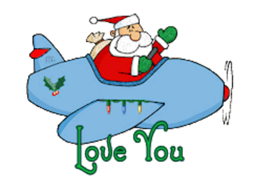Love You - SantaPlane