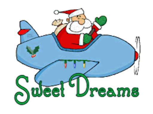 Sweet Dreams - SantaPlane