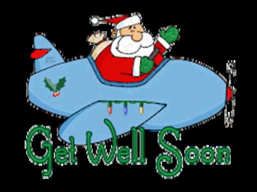 Get Well Soon - SantaPlane