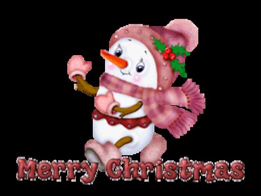 Merry Christmas - CuteSnowman