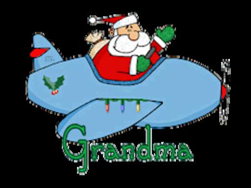 Grandma - SantaPlane