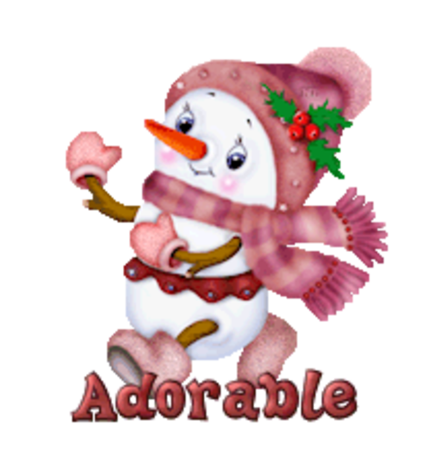 Adorable - CuteSnowman