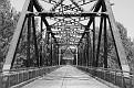 Trestle Bridge #2 - black and white