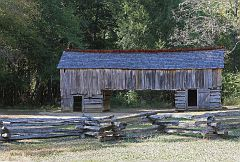 Cable Cantilever Barn