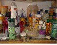 My hair products!
