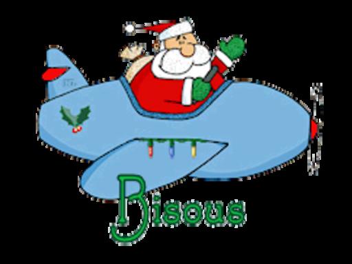 Bisous - SantaPlane