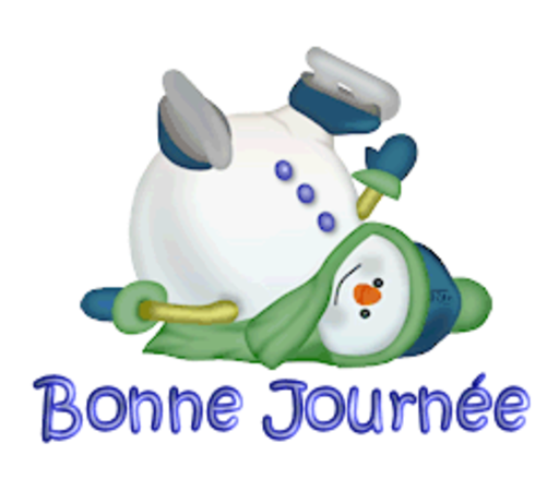 Bonne Journee - CuteSnowman1318
