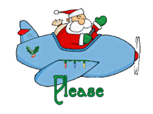Please - SantaPlane