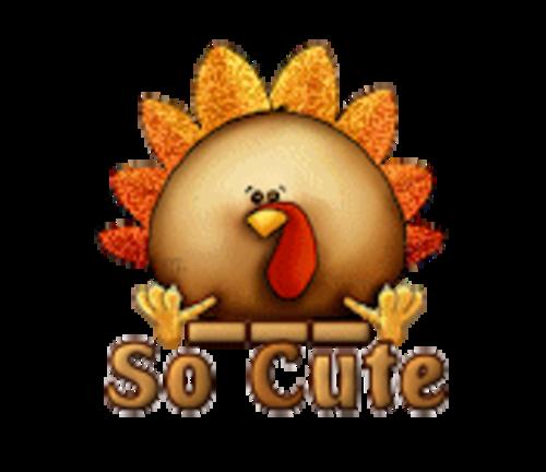 So Cute - ThanksgivingCuteTurkey