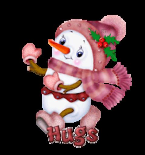 Hugs - CuteSnowman
