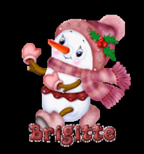 Brigitte - CuteSnowman