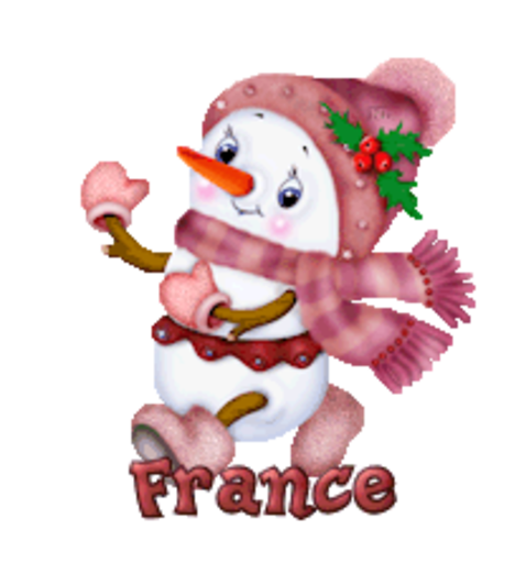 France - CuteSnowman