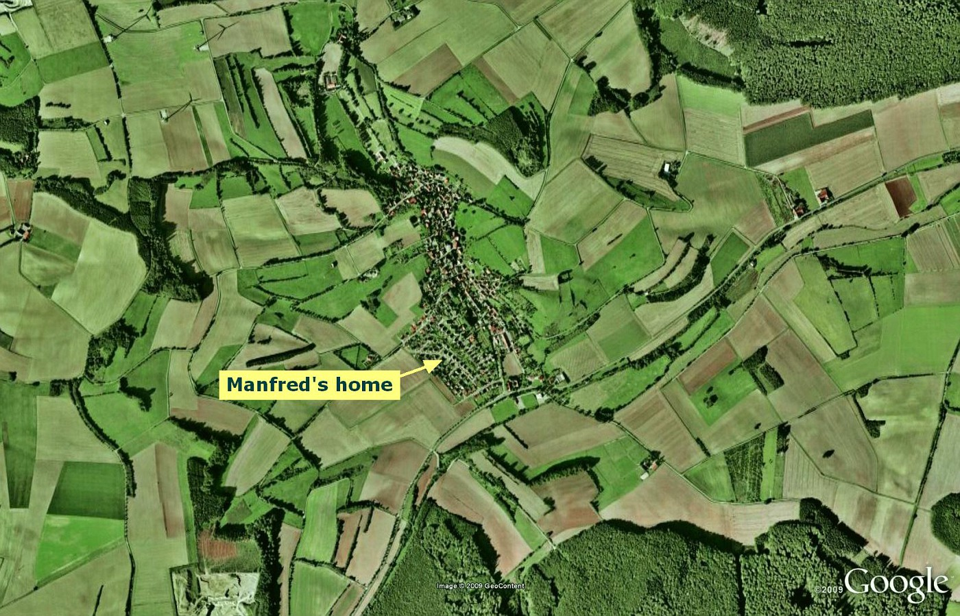 Manfred's home