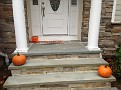 we are not big on Halloween decorations