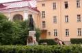 Во дворике дома-музея Пушкина - In the courtyard of Pushkin House-Museum