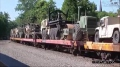 VIDEO - MILITARY TRAIN ON THE CT  SOUTHERN RAILROAD - YOUTUBE VIDEO