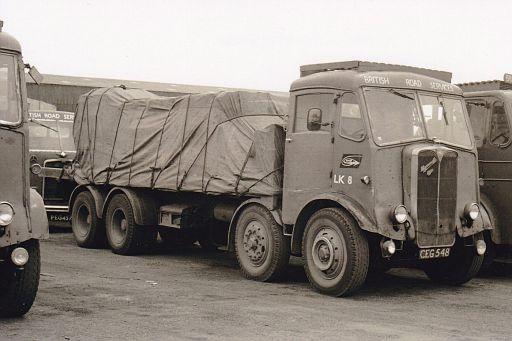 CEG548  AEC Mammoth Major  no. LK8  of Peterborough depot