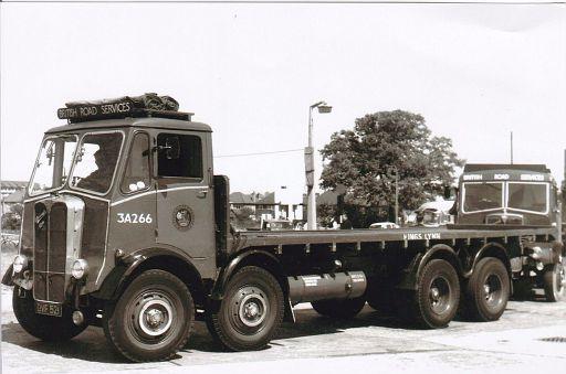 OVF521   AEC Mammoth Major  no. 3A266 of King's Lynn depot