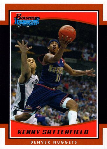 2002-03 Bowman Signature Kenny Satterfield (1)