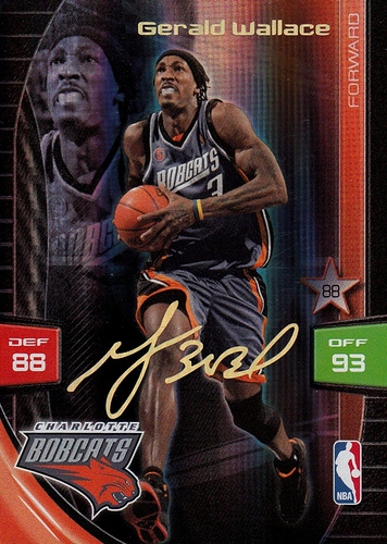 2009-10 Adrenalyn XL Special Signature Gerald Wallace (1)