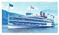 American Heritage Steamboats #36 Alexander Hamilton 1924