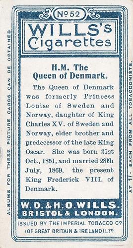 1908 Wills European Royalty #052 (2)