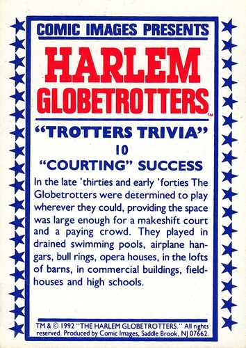 1992 Harlem Globetrotters #10 (2)