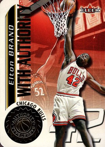 2000-01 Fleer Authority With Authority #19WA (1)