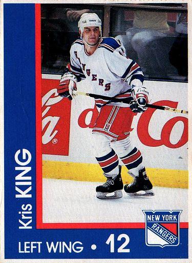 1989-90 Marine Midland New York Rangers #12 (1)