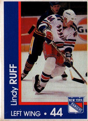 1989-90 Marine Midland New York Rangers #44 (1)