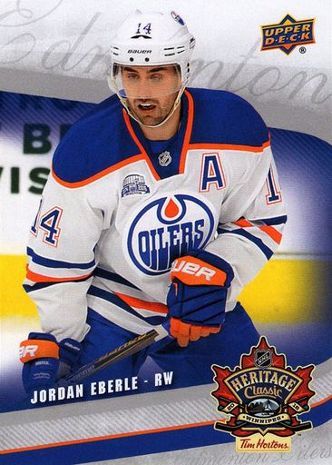 2016 Tim Horton's Heritage Classic Oilers #Oilers-5 (1)