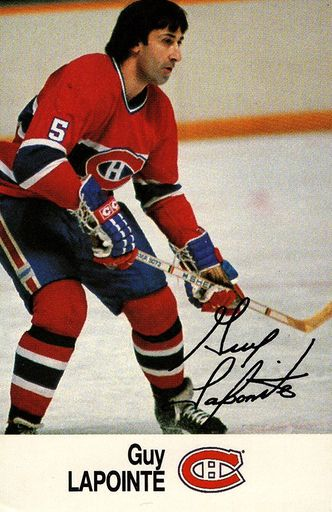 1988-89 Esso NHL All-Star Collection Guy Lapointe (1)