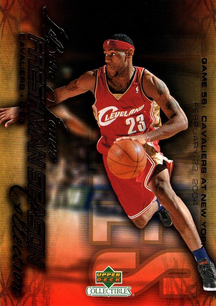 2004 LeBron James Freshman Season #58 (1)