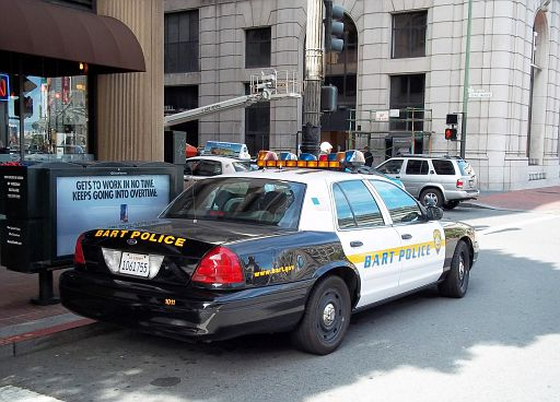 CA - BART Police 2008 Ford CV