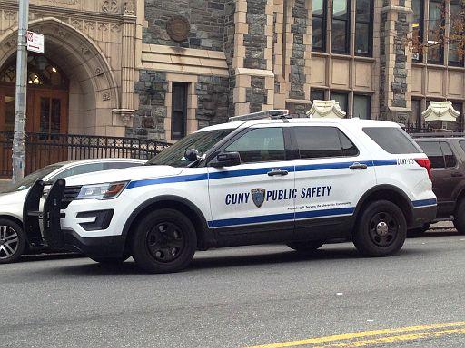 NY - City University of NY Public Safety 2017 Ford Explorer