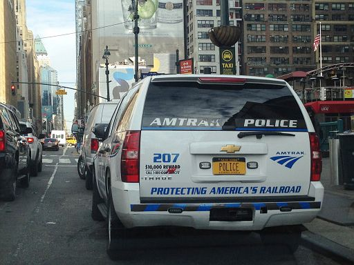 US - Amtrak Police
