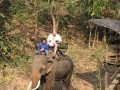 Mae Ping Elephant Camp near Chiang Mai in Northern Thailand Day 12 Feb 23-2006 (33)