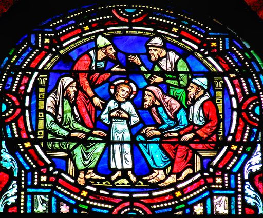 SAINTS PETER AND PAUL CHURCH - STAINED GLASS - 21