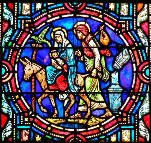 SAINTS PETER AND PAUL CHURCH - STAINED GLASS - 23
