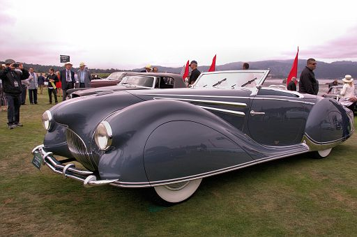 1947 Delahaye 135 MS Figoni & Falaschi Cabriolet, Wayne Grafton, Richmond, British Columbia, Canada DSC 2222 -1